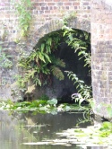 Entrance to canal boat basin
