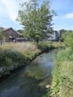 The Stour and the New Foundry. (Lion Health Medical Centre)